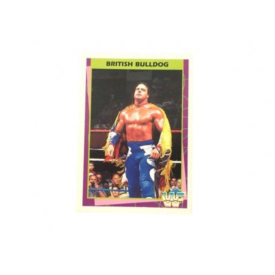 Merlin: WWF – British Bulldog 52 (German Card)