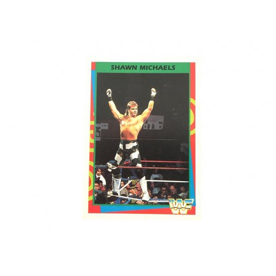 Merlin: WWF – Shawn Michaels 51 (German Card)