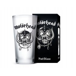 Motörhead Pint Glass Logo