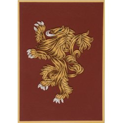 Game of Thrones Quilled Greeting Card House Lannister
