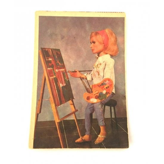 1966 Thunderbirds Somportex Collector Cards – Artist At Work 49