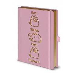 Pusheen Premium Notebook A5 Eat. Sleep. Eat. Repeat.
