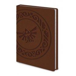 Legend of Zelda Premium Notebook A6 Triforce