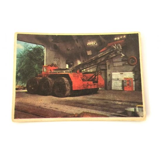 1966 Thunderbirds Somportex Collector Cards – The Mobile Crane 19