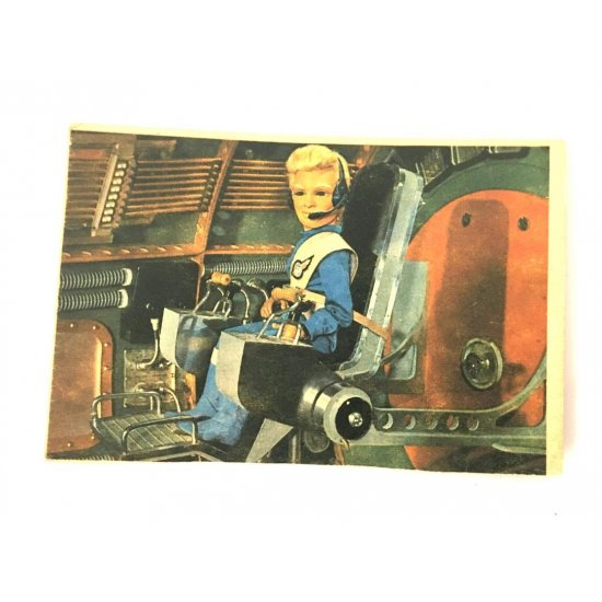 1966 Thunderbirds Somportex Collector Cards – Inside Thunderbird III 25