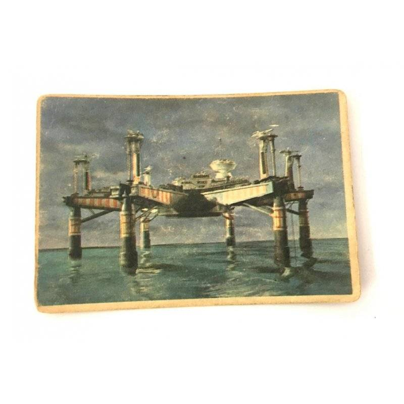 Collector Cards - 1966 Thunderbirds Somportex Collector Cards – Oil Rig 23 -