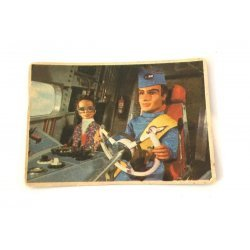 1966 Thunderbirds Somportex Collector Cards – Dangerous Task 20