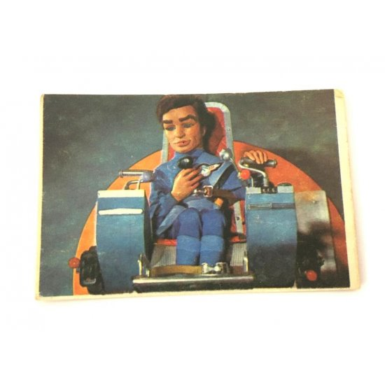 1966 Thunderbirds Somportex Collector Cards – At The Controls 59