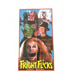 Collector Cards - Topps Fright Flicks Sticker set 1 – 11 -