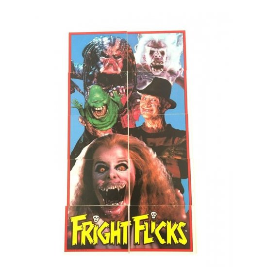 Topps Fright Flicks Sticker set 1 – 11