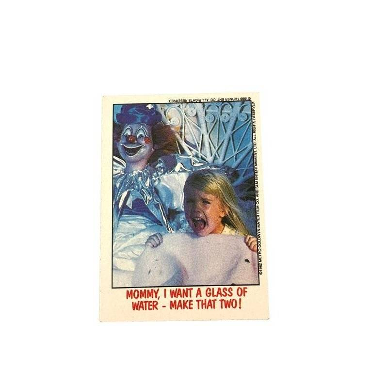 Collector Cards - Topps Fright Flicks: Poldergeist 77 -