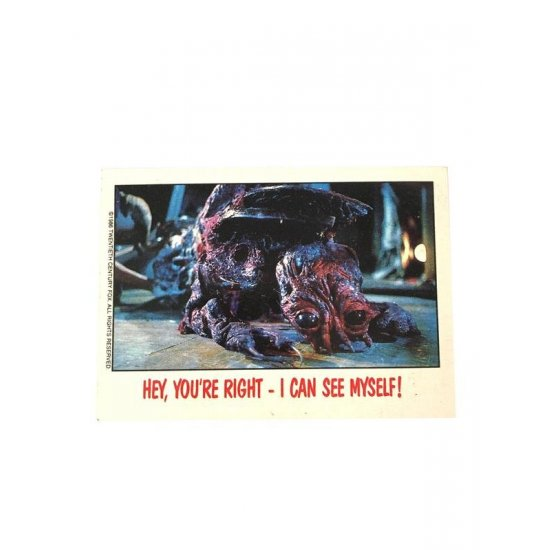 Topps Fright Flicks: The Fly (1986) 81