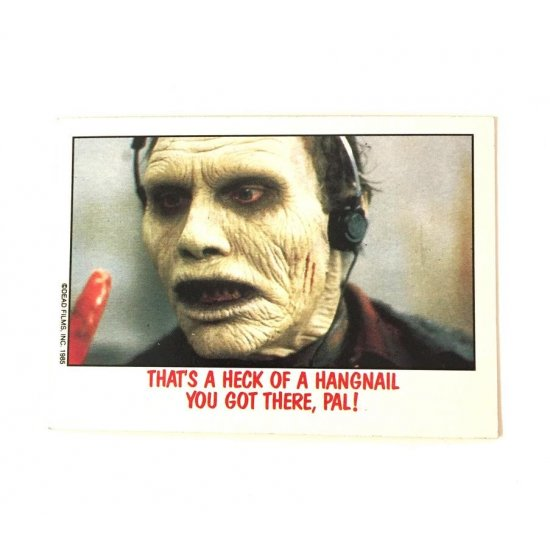 Topps Fright Flicks: Day Of The Dead 30