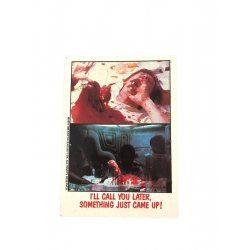 Collector Cards - Topps Fright Flicks: Alien 74 -