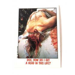 Collector Cards - Topps Fright Flicks: Day Of The Dead 6 -