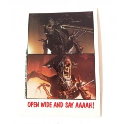 Collector Cards - Topps Fright Flicks: Aliens 11 -