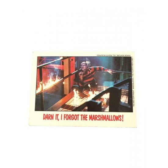 Topps Fright Flicks: A Nightmare On Elm Street II 41