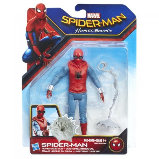 Spider-Man: Homecoming Web City – Spider-Man Homemade Suit