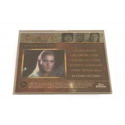 Collector Cards - Lord Of The Rings P1 Trading Card -