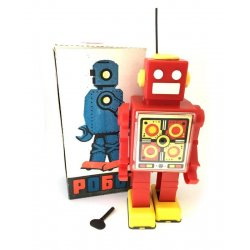 POGOT wind Up Robot Russian Toy Museum Soviet Union