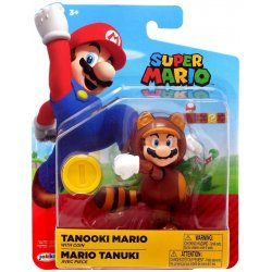 World of Nintendo 10 cm - Tanooki Mario with Coin