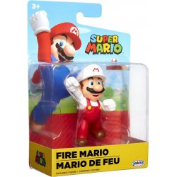 World of Nintendo 6 cm - Fire Fist Bump Mario