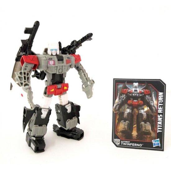 Transformers: Titans Return – Autobot Twinferno & Daburu