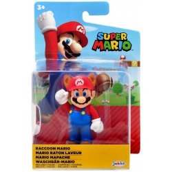 World of Nintendo 6 cm - Raccoon Mario