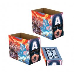 Marvel Storage Boxes Captain America Patriot 23 x 29 x 39 cm Case (5)