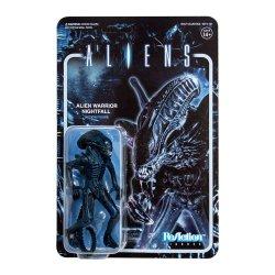 Aliens ReAction Action Figure Wave 1 Alien Warrior Nightfall Blue 10 cm