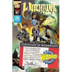 Witchblade Wizard 500 (Signed by Christina Z)