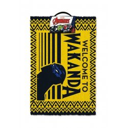 Black Panther Doormat Welcome to Wakanda 40 x 60 cm