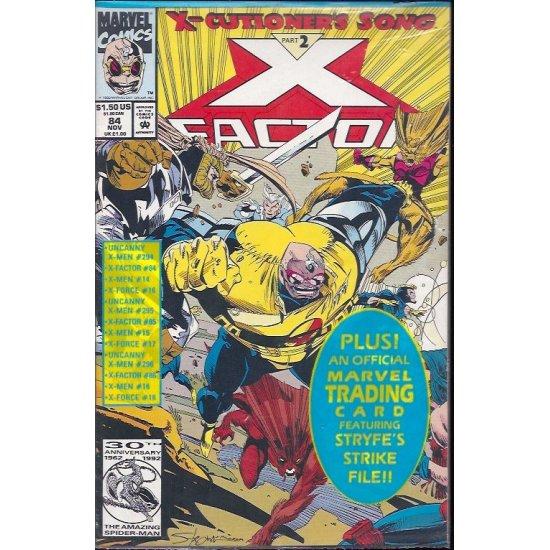 X-Factor (1986 1st Series) 84P