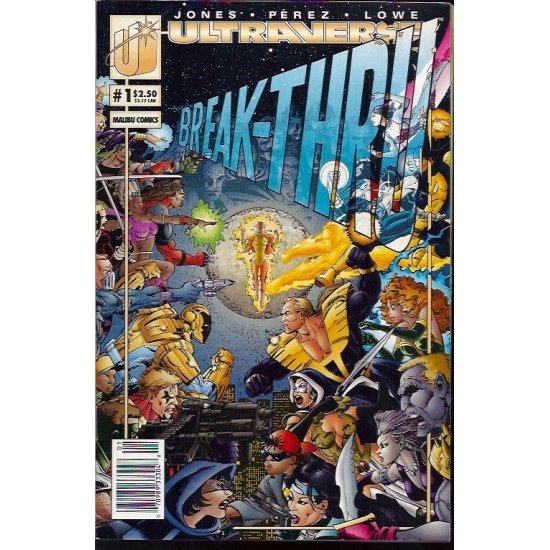 Ultraverse: Break-Thru (1993) 1