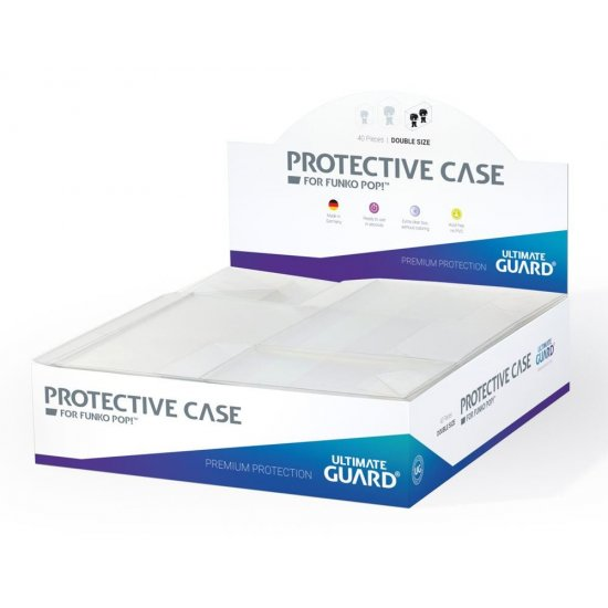 Ultimate Guard Protective Case for Funko POP!™ Figures Double Size (40)
