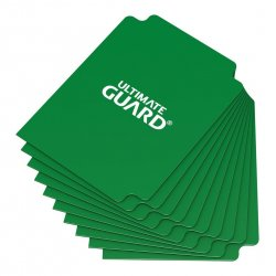 Ultimate Guard Card Dividers Standard Size Green (10)
