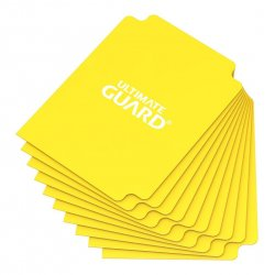 Ultimate Guard Card Dividers Standard Size Yellow (10)