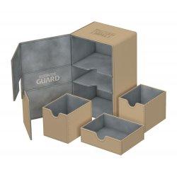 Ultimate Guard Twin Flip´n´Tray  Deck Case 160+ Standard Size XenoSkin™ Sand