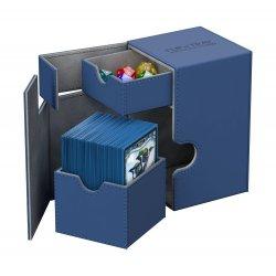 Ultimate Guard Flip´n´Tray  Deck Case 100+ Standard Size XenoSkin Blue