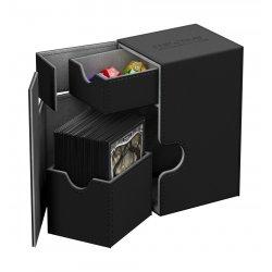Ultimate Guard Flip´n´Tray  Deck Case 80+ Standard Size XenoSkin Black