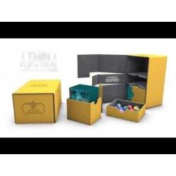 Ultimate Guard Twin Flip´n´Tray Deck Case 160+ Standard Size XenoSkin Black