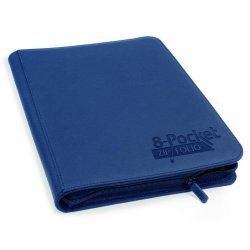 Ultimate Guard 8-Pocket ZipFolio XenoSkin Blue