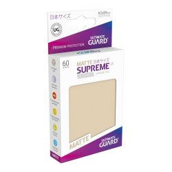 Ultimate Guard Supreme UX Sleeves Japanese Size Matte Sand (60)