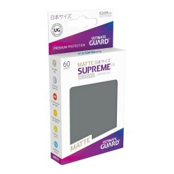 Ultimate Guard Supreme UX Sleeves Japanese Size Matte Dark Grey (60)