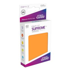 Ultimate Guard Supreme UX Sleeves Japanese Size Orange (60)