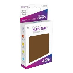 Ultimate Guard Supreme UX Sleeves Japanese Size Brown (60)