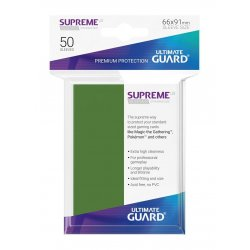 Ultimate Guard Supreme UX Sleeves Standard Size Green (50)
