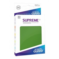 Ultimate Guard Supreme UX Sleeves Standard Size Green (80)
