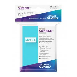 Ultimate Guard Supreme UX Sleeves Standard Size Matte Aquamarine (50)