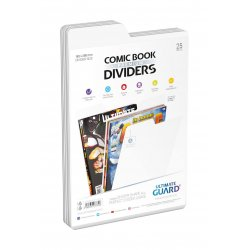 Ultimate Guard Premium Comic Book Dividers White (25)